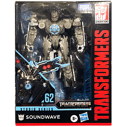 Soundwave Deluxe Class #62, Transformers Studio Series