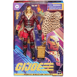Profit Director Destro, G.I. Joe - Classified Series - Exclusive