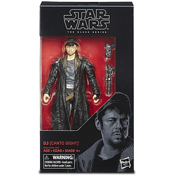 "DJ (Canto Bight) ""Star Wars: Episode VIII"", The Black Series"