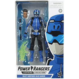 Beast Morphers Blue Ranger, Power Rangers Lightning Collection Wave 3