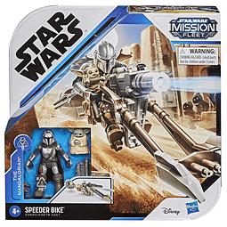 The Mandalorian & Speeder Bike, Star Wars - Mission Fleet
