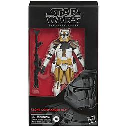 """Clone Commander Bly """"Star Wars: Episode III"""", The Black Series Wave 24"""