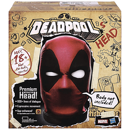 Deadpool's Premium Interactive Head, Marvel Legends