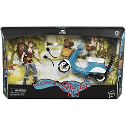 The Unbeatable Squirrel Girl with Scooter, Marvel Legends - Vehicles