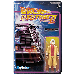 """Doc Brown (Future) """"Back to the Future 2"""", ReAction Figures"""