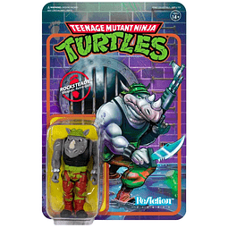 "Rocksteady ""Teenage Mutant Ninja Turtles"", ReAction Figures"