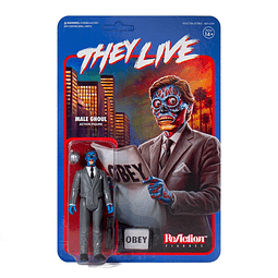 """Male Ghoul """"They Live"""", ReAction Figures"""