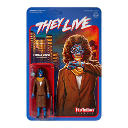 """Female Ghoul """"They Live"""", ReAction Figures"""