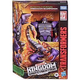 Predacon Scorponok Deluxe Class, Transformers Kingdom Wave 3
