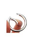 Mosquetón circular nickel 1