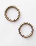 Mosquetón circular bronce 2