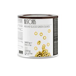 Olive Verdi a Rondelle 2400GR