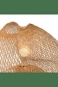 Candeeiro de Pé em Bambu