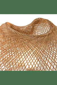 Candeeiro de Chão em Bambu