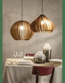 Umbra - Suspension Lamp in Wood