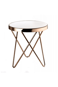 Round Glass Table - Small