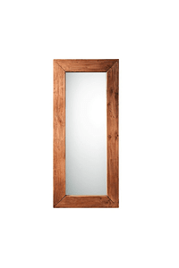 Mirror with Frame in Recycled Wood - Large