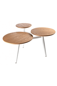 Wooden Table with 3 tops