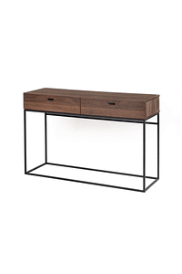 Cubik - Walnut Console with Drawers