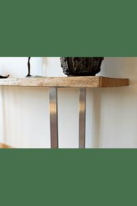 Flair - Consola em Madeira Maciça e Aço