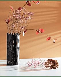 Barkvase - Vaso em Preto