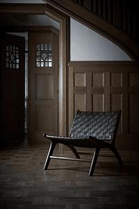 Porto - Armchair in Sienna Brown