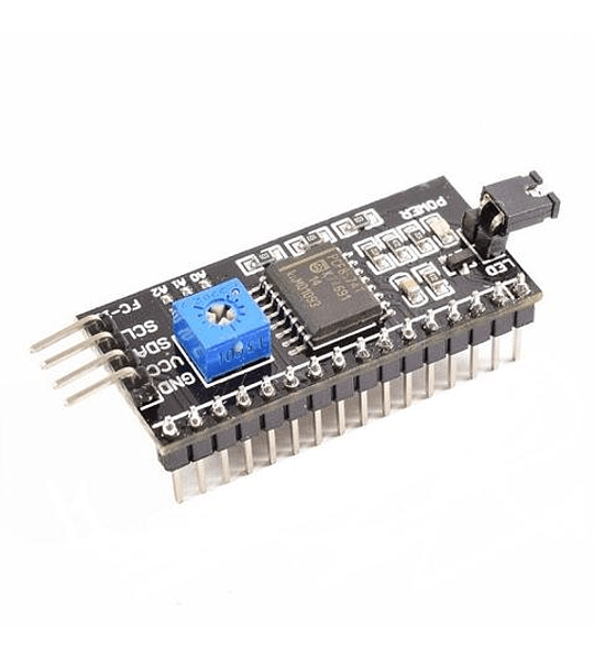 MODULO I2C CONVERSOR ADAPTADOR LCD PF8574A