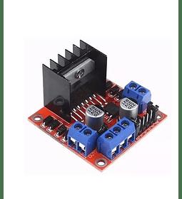 DRIVER L298 CONTROLADOR PARA MOTOR (puente H inversor de giro)
