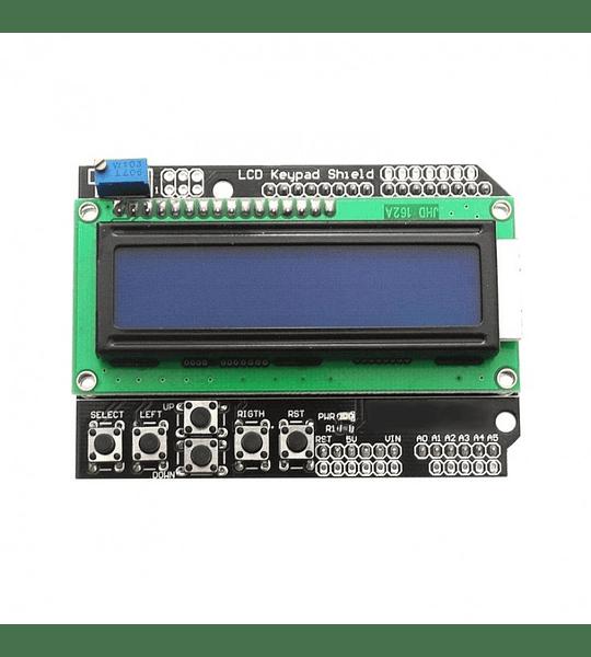 SHIELD  LCD 2X16 KEYPAD