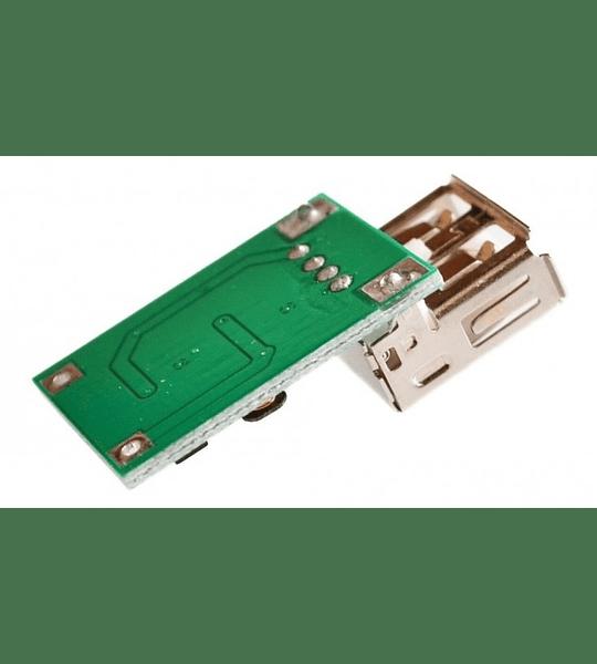 MINI CONVERTIDOR ELEVADOR DC DC - CARGADOR USB TLV61220