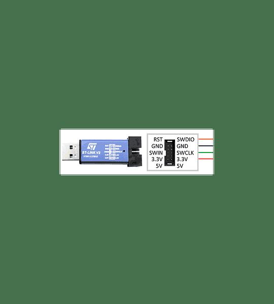 PROGRAMADOR ST LINK V2