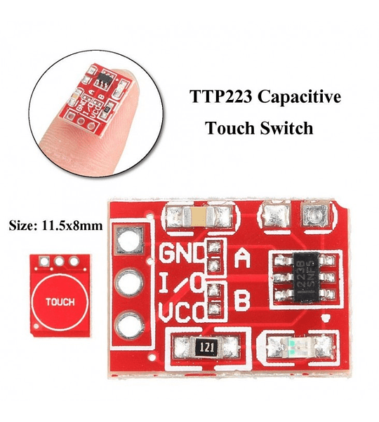 SENSOR TACTIL CAPACITIVO TOUCH TTP223