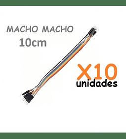 JUMPERS DUPONT MACHO MACHO 10CM X10 UNID