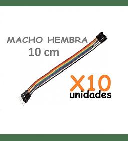 JUMPERS DUPONT MACHO HEMBRA 10CM X10 UNID