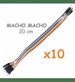 JUMPERS DUPONT MACHO MACHO 20CM X10 UNID