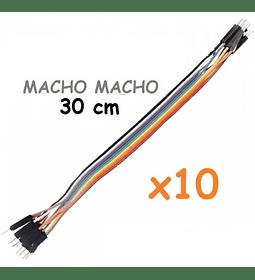 JUMPERS DUPONT MACHO MACHO 30CM X10 UNID