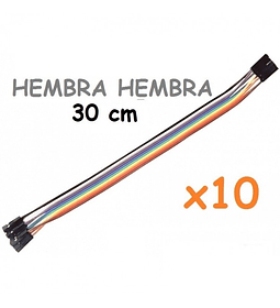 JUMPERS DUPONT HEMBRA HEMBRA 30CM X10 UNID