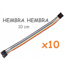 JUMPERS DUPONT HEMBRA HEMBRA 10CM X10 UNID