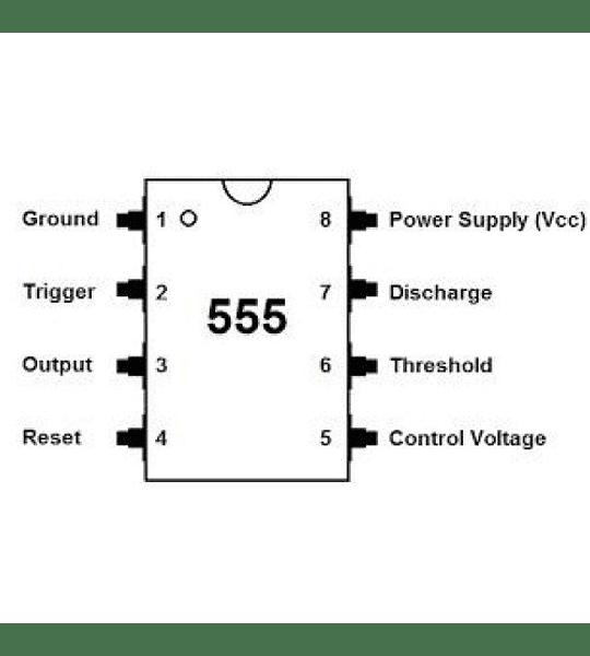 LM555 Temporizador 555