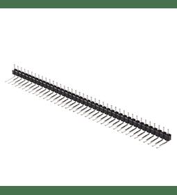 Regleta de pines Header Macho Macho 1x40 en ángulo 90°