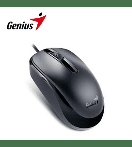 Mouse Genius Usb  DX-120 Scroll alta calidad negro GENIUS