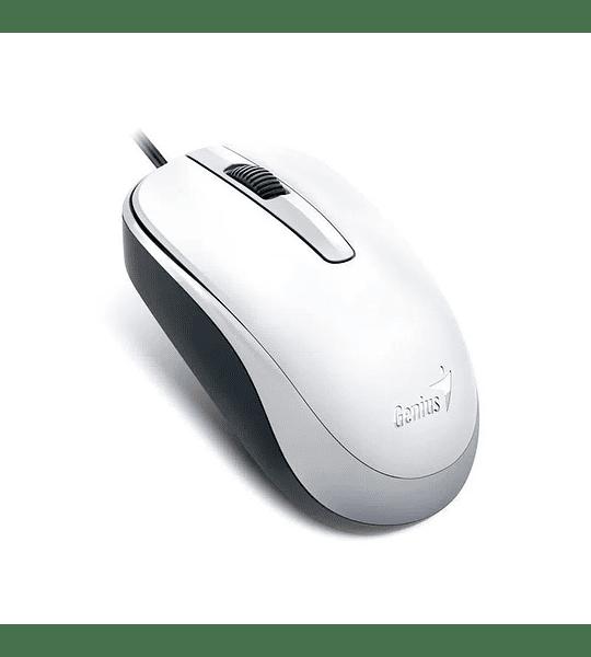 Mouse Genius Usb  DX-120 alta calidad blanco  GENIUS
