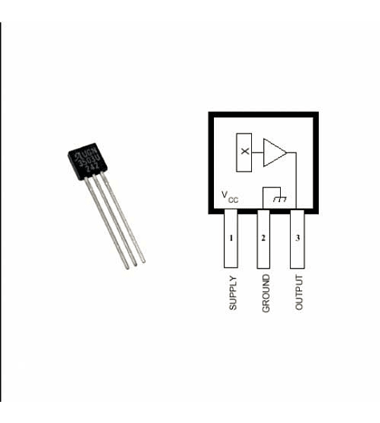 Sensor de efecto Hall UGN3503