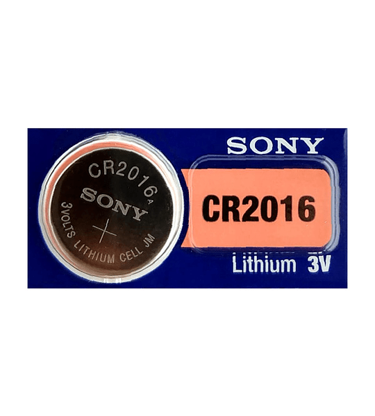 Batería CR2016 3V