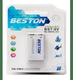 Bateria Recargable Beston 9V - 250mA