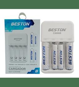 Cargador  BST-C8006 BESTON   AAX2 + AAAX2