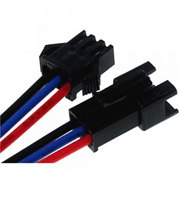 KIT CONECTOR MACHO Y HEMBRA  3PINES  JST-SM