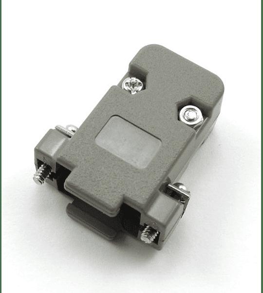 Carcasa plástica para conector dB9
