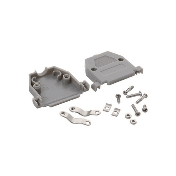 Carcasa plástica para conector dB25