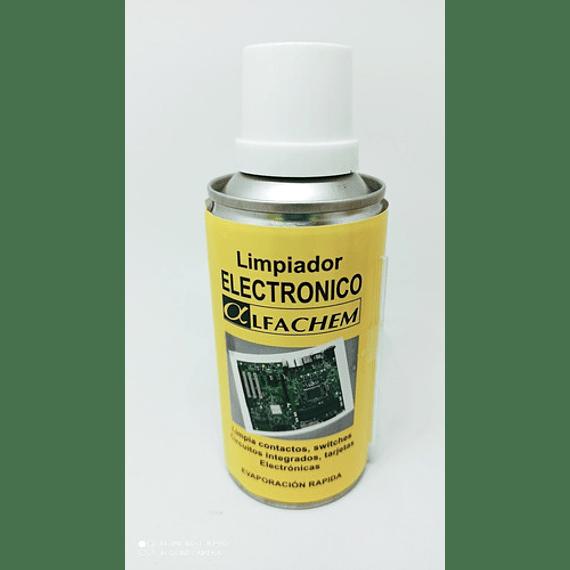 Limpiador Electrónico en spray Marca Alfachem